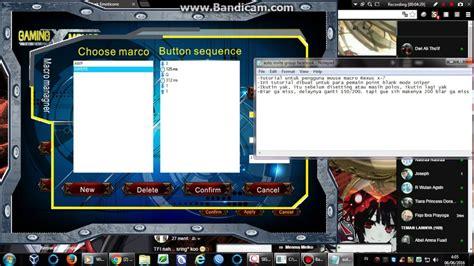 Mouse Macro Untuk Point Blank tutorial untuk setting point blank mode sniper pada