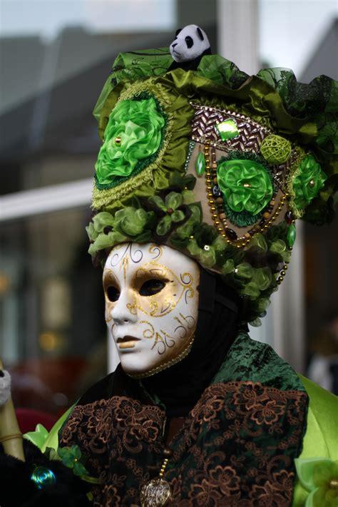 Topeng Venetian 033 Hijau gambar hijau karnaval warna penutup kepala festival