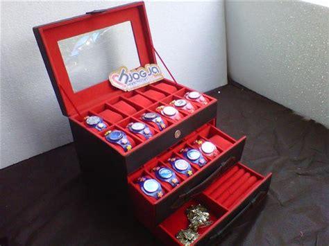 Tempat Accesories Susun box jam susun isi 24 mix laci accesories
