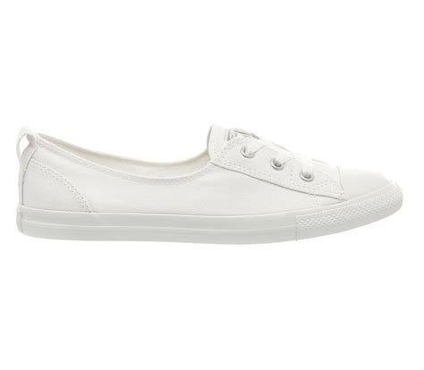 Converse 3 Holes Mono White converse ctas canvas ballet lace white mono exclusive hers trainers