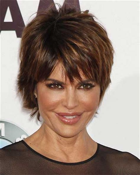 styling lisa rinna hairstyle lisa rinna very short shag style and beauty tips