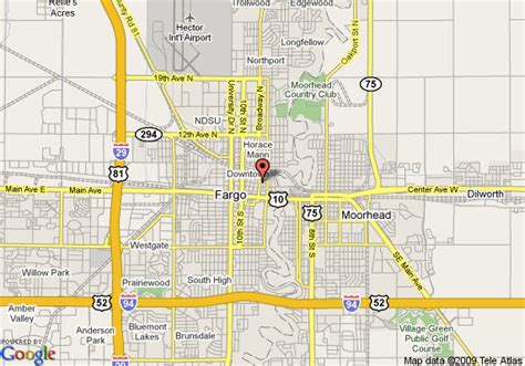 map of fargo nd map of radisson hotel fargo fargo