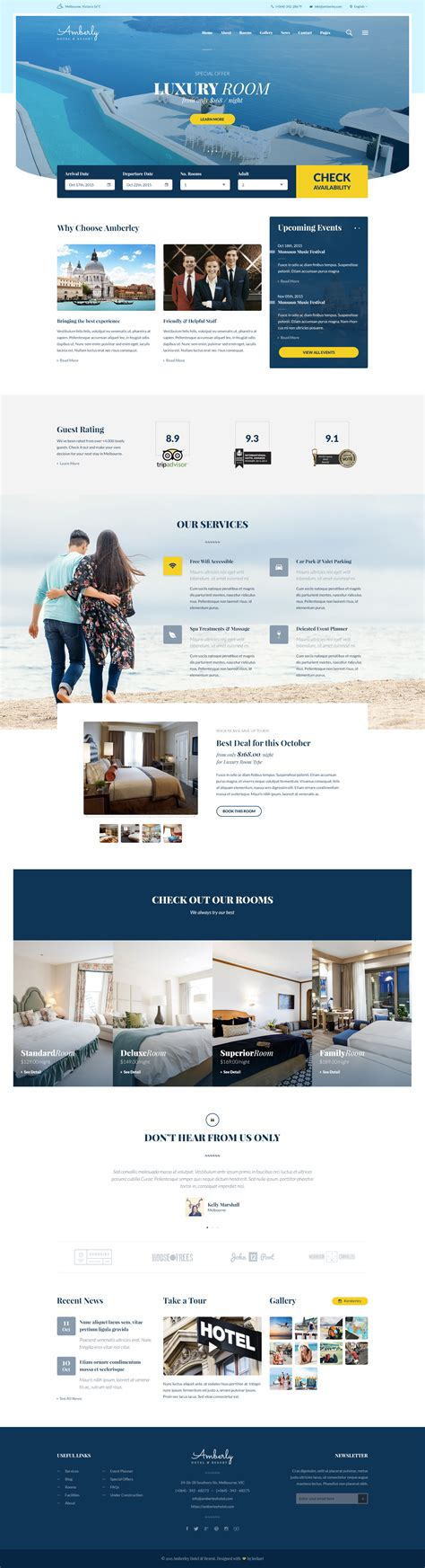 how to create a stylish hotel website psd to html 10 best premium psd website templates october 2015