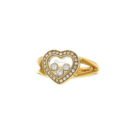 chopard happy diamonds ring 330361 collector square