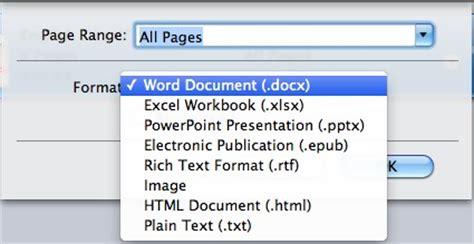 convert pdf to word os x pdf to word mac os x 10 5 8