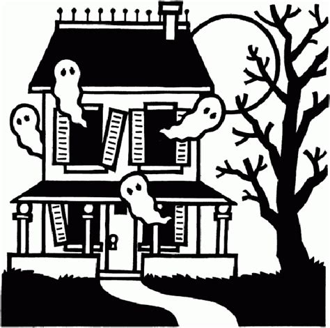 halloween coloring pictures haunted house these halloween coloring pages are the perfect antidote to