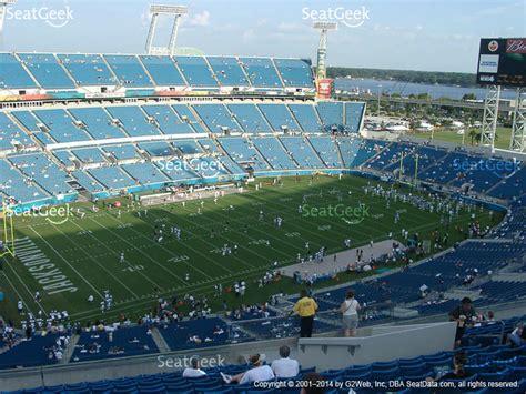 jacksonville jaguar stadium seating everbank field seating chart row aa brokeasshome
