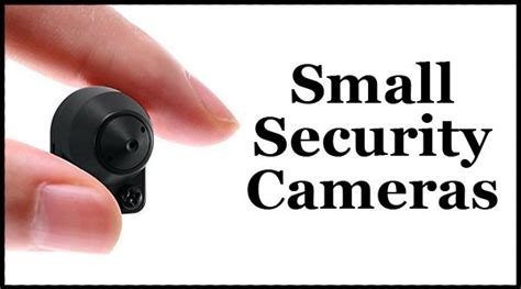 best small security cameras