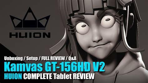 Huion Kamvas Gt 156hd V2 Drawing Tablet