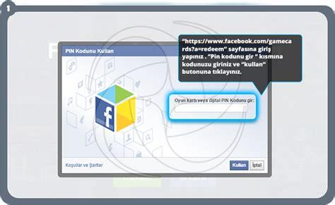 Facebook Gift Card Redemption - facebook oyun kartı e pin satın al perdigital