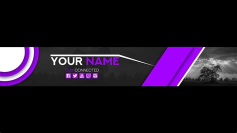 Youtube Banner 2018 Template Business Idea Banner Template 2018