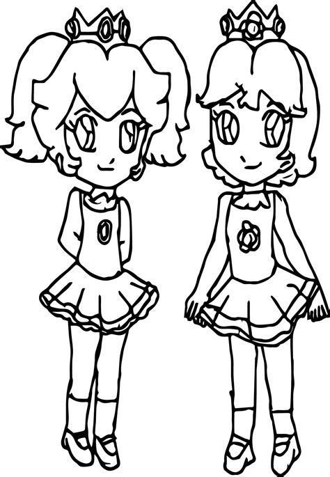 coloring pages of daisy from mario peach and daisy pages coloring pages
