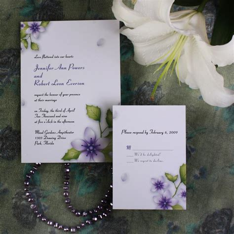 purple and green wedding invitations top 5 color combination ideas for purple weddings