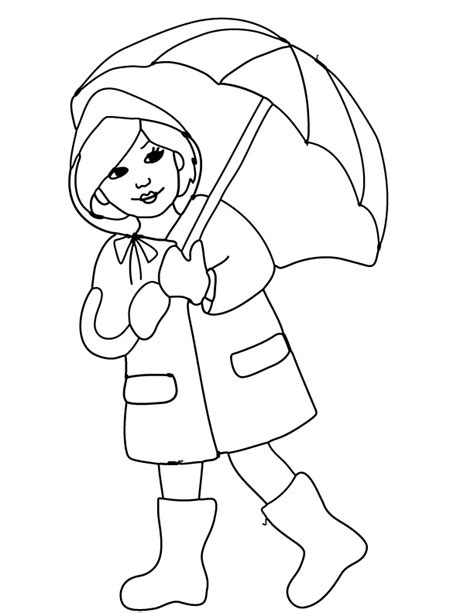 april showers coloring pages free printable coloring page and clipart april showers