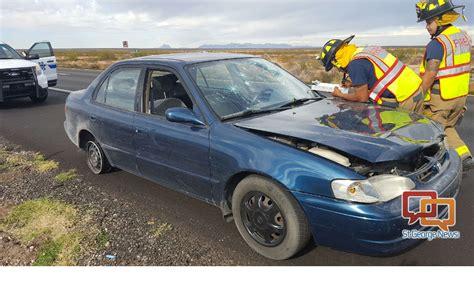 Auto Biber by News Rolls Car On Freeway Keeps On Driving