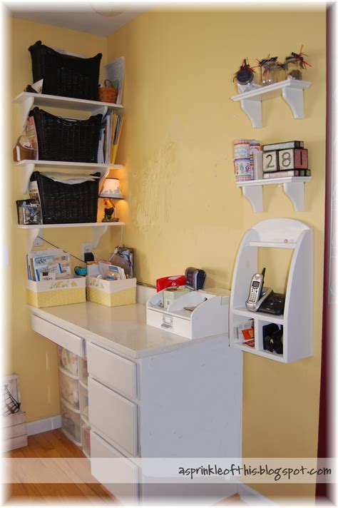 A Sprinkle Of This Kitchen Organization Kitchen Desk Organization