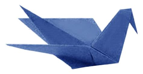 Paper Folding Birds - origami sitting bird how to make origami sitting bird