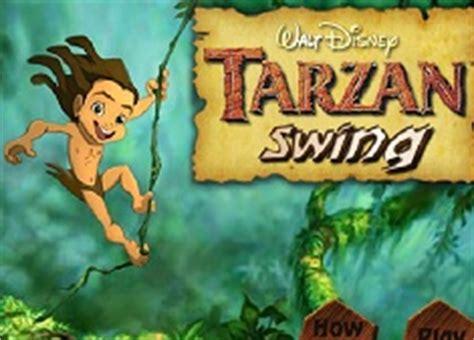 tarzan the jungle man swinging from a rubber band tarzan memory cards tarzan games