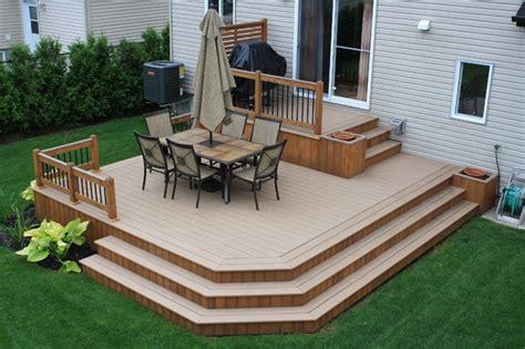 Backyard Ideas Deck And Patio Patio Deck Design 174 Contemporary Deck