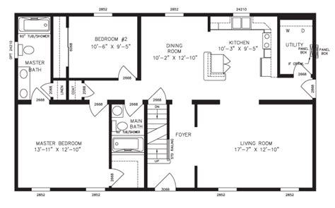 cape cod plans open floor cape cod floor plans key modular homes