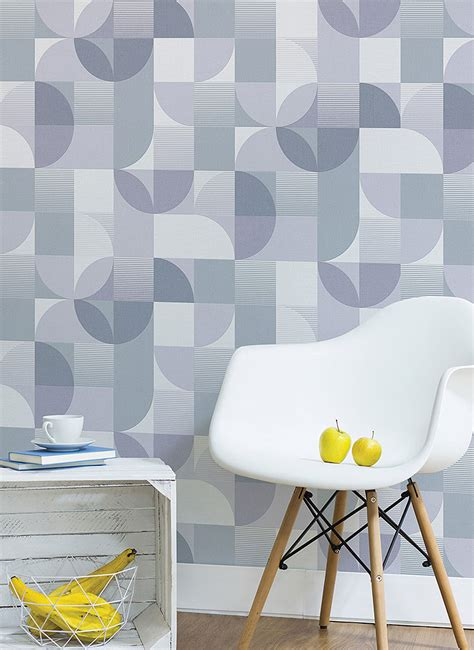 sticky wallpaper modern pattern contact paper peel and stick wallpaper