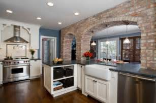 brick in kitchen how to integrate exposed brick walls into your interior d 233 cor