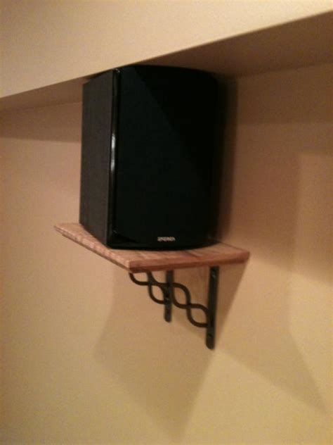 Subwoofer Shelf by Show Me Your Diy Speaker Wall Mounts Avs Forum Home