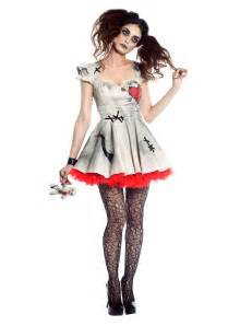 haunted doll halloween costume womens voodoo doll costume