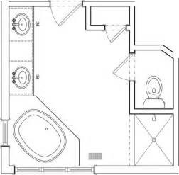 En Suite Bathroom Floor Plans by Best 20 Master Bathroom Plans Ideas On Pinterest