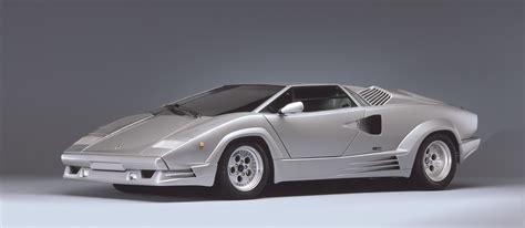 1988 Lamborghini Countach Lamborghini Countach 25th Annv 1988 Cartype