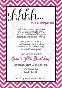 Surprise party invitations surprise party invitation