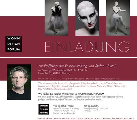 Muster Einladung Ausstellung November 2012 Stefan Nuetzel