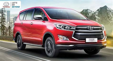 2020 toyota innova toyota innova 2020 model a facelift from the previous one