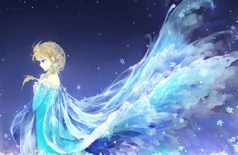 wallpaper frozen anime snow queen snowflakes disney frozen cartoon elsa