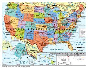 us map with rivers and cities choice image diagram