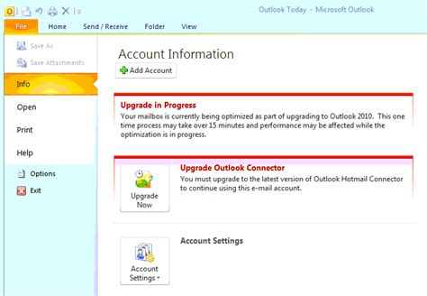 Unable To Search Emails In Outlook 2010 Office Of Information Technology The Of
