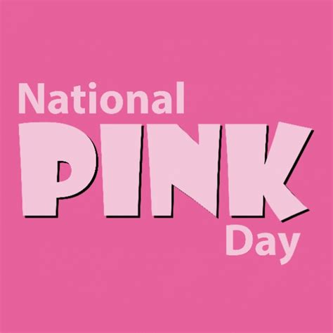Happy Day Pink happy national pink day 2016