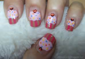 valentine s day nail art