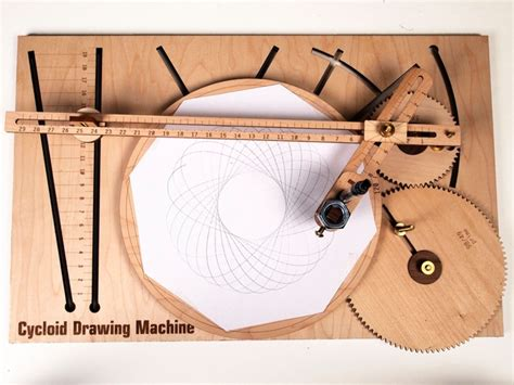 spiral pattern drawing machine cycloid drawing machine cdms built with processing and