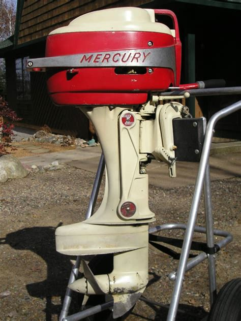 mercury outboard motor lineup mercury outboard motor circa 1950 s classic outboards