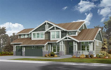 nw home plans northwest craftsman home plan 2311jd 2nd floor master