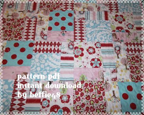 pattern magic tutorial magic 9 block quilt pattern tutorial kids baby pdf