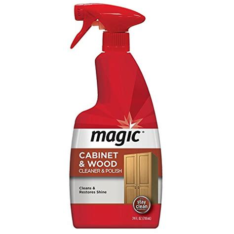 kitchen cabinet cleaner and polish magic american cabinet and wood cleaner polish 24 fl oz