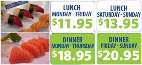 shinju japanese buffet lunch price exclusive coupon for coral springs shinju buffet