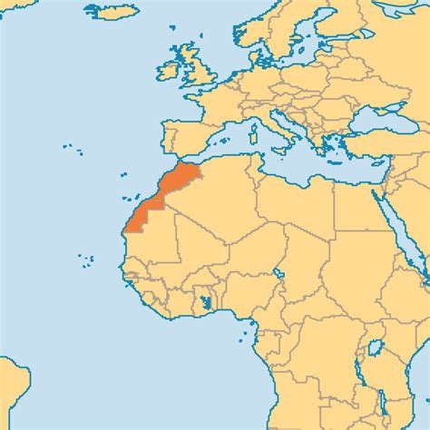 world map of morocco you want to where is morocco located where is morocco