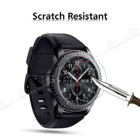 Tempered Glass For Samsung Gear S3 Sikai Premium Tg 1 dafoni tempered glass premium samsung gear s3 classic