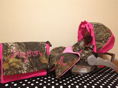pink camo seat covers set camouflage baby bedding set mossy oak camo fabric
