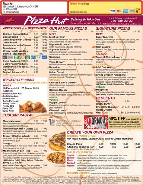 domino pizza newmarket pizza hut cranbrook bc 401 cranbrook st n canpages