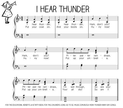 Let There Be Light Lyrics I Hear Thunder Rainy Day Songs