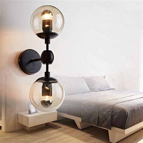 chic wall light bedroom bedroom wall lights warisan lighting bedside chic light globe glass shade e e bedroom wall sconce